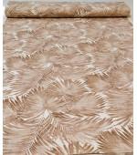 """Плат палмови листа за завеси,покривки,тишлайфери,шалтета,дамаска """"DUCK"""", петно и водоустойчив,  65% памук 35% полиестер, 215гр./м², код-032928-10"""