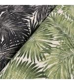 """Плат палмови листа за завеси,покривки,тишлайфери,шалтета,дамаска """"DUCK"""", петно и водоустойчив,  65% памук 35% полиестер, 215гр./м², код-032928"""