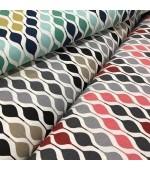 """Колекция, 2018-2019г, петноустойчив плат """"DUCK"""" подходящ за завеси,покривки,шалтета и дамаска, ширина 180см. цената е за 1л.м 65% памук 35% полиестер, 215гр./м² код-051685"""