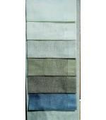 Полупрозрачен плат имитация на лен за тънки пердета с оловна нишка, ширина 300см.-код-887