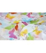 Детски плат за пердета, десен-Пеперуди, височина 300см. код-06370