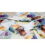 Детски плат за пердета с анимационни Дисни герои, десен-Коли, височина 300см. код-10222-2