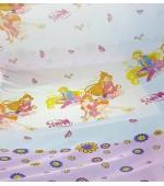 Детски плат за пердета с анимационни Дисни герои, десен-Клуб Уинкс, височина 300см. код-10128