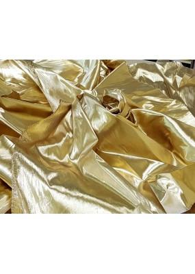 Златист и сребрист плат-ламе, за декорация, ширина 210см. код-130685