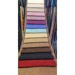 """Плюшен плат за завеси """"BUSE"""" с лъскав ефект пропускливост на светлината 5-20% в различни цветове  ширина 280 см. плътност 250  гр /  м² ."""
