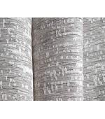 """Комплект от 2 броя готови завеси с жакардова текстура плюс 2 коланчета, серия """"СИВАС"""" с пришити ширит ленти за релса и гайки за тръбен корниз, размер 254x140см. код-20190350-2"""