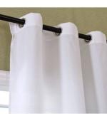 Завеса от микросатен с уникален дизайн, в преливащи пастелни тонове, готова за окачване на тръбен корниз, размер 245x140см. код-20425