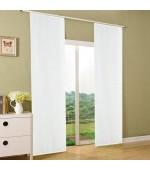 Плътна панел завеса от плат имитация на лен, подходяща за поставяне на ПВЦ  или алуминиева релса, размер 245 x 60см. ( височина x ширина) код-204411