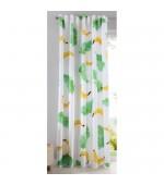 Детска готова завеса с дигитално отпечатана щампа десен-банан, размер 245x140см.(височина x ширина) код-20490-9