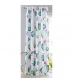 Детска готова завеса с дигитално отпечатана щампа десен-кактус, размер 245x140см.(височина x ширина) код-20490-10