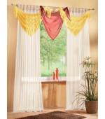 Ефектен ламбрекен за декорация в изключително богата гама от цветове, размер 100х200 (височина х ширина см.)