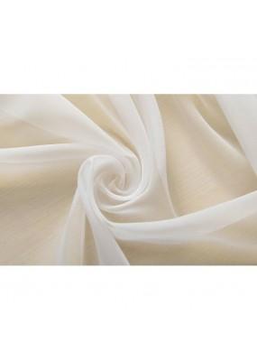 Бял изчистен ефирен плат за пердета с оловна нишка, муселин (воал-тюл) ширина 300 см. цената е за опаковка от 10л.м. код-61053
