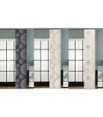 Плъзгаща се панел завеса-японска стена, размер 245x45см. за окачване на ПВЦ или алуминиева релса, код-80355