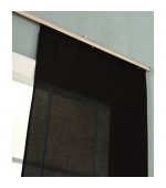 Плътна панел завеса от тафта на леко течащи хоризонтални раета за монтаж на ПВЦ  или алуминиева релса, размер 245 x 60см. ( височина x ширина)