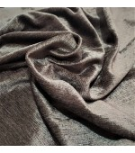Плътен двулицев кадифен плат с лъскав ефект  за завеси подходящ за дамаска и римски щори с ширина 280см.