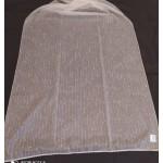 Плат за тънки, прозрачни дневни пердета, на вертикални раета и капки, завършек с оловна нишка, височина 300см. код-NUH-05