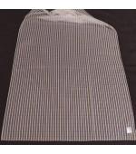 Плат за тънки, прозрачни дневни пердета, на хоризонтални и вертикални вплетени раета, височина 300см. код-NUH-03