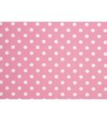 012706 - 56 Завеса/дамаска наситено розов плат на бели точки