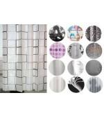 Душ завеса от най-високо качество EVA изработена от екологично чисти материали размер 180x180см.