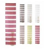 Стилна органза панел завеса тип японска стена на хоризонтални раета в различни цветове , размер 243x60см. (височина x ширина)