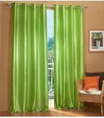 Комплект от 2 бр. еднакви висококачествени лъскави тафта завеси, с вградени халки в изобилие от богата гама цветове