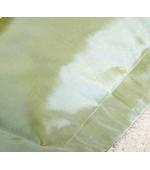 2 броя калъфки за възглавници от тафта, цвят зелен, размер 50x50см.