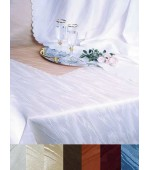 Плътна сатенена покривка в два цвята-тип мраморна  в четери размера