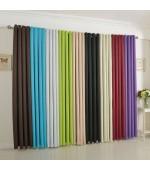 Плътна завеса от плат блекаут с вградени халки за тръбен корниз, тегло: 250 гр / м ².  подходяща за спалня,хол или детска с размер 175x135 (височина x ширина) код-20601
