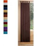Стилна тафта завеса  в изобилие от цветове  с ленти за окачване на корниз и пришита ширит лента за релса с размер 245x145см.