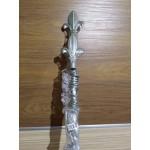 Тръбен метален корниз  ф16mm. с пластмасови халки и накрайници с размер от 120см. до 480см. , цена от 22.80лв